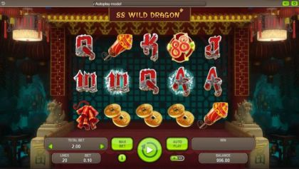 Slot Reels - 88 Wild Dragons-Booongo Mobile Slot Game