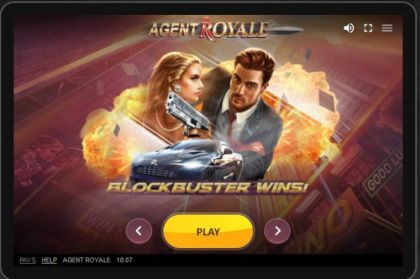 Info - Agent Royale-Red Tiger Gaming Mobile Slot Game