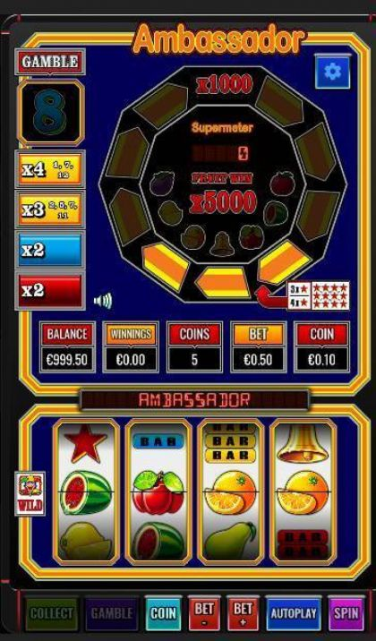 Slot Reels - Ambassador-Betdigital Mobile Slot Game