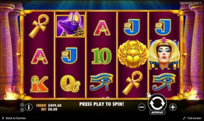 Slot Reels - Ancient Egypt-Pragmatic Play Mobile Slot Game