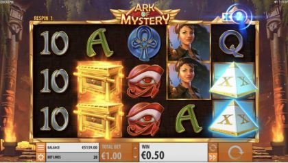 Slot Reels - Ark of Mystery-Quickspin Mobile Slot Game