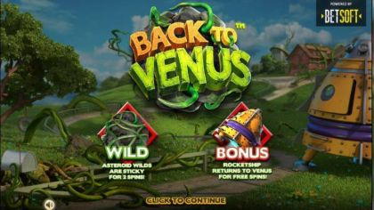 Info - Back to Venus-BetSoft Mobile Slot Game