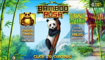 , - Bamboo Rush- Mobile Slot Game