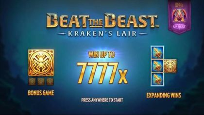 Bonus 1 - Beat the Beast: Kraken's Lair-Thunderkick Mobile Slot Game