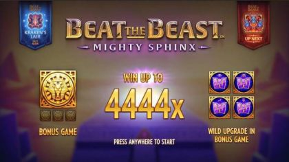 Info - Beat the Beast: Mighty Sphinx-Thunderkick Mobile Slot Game