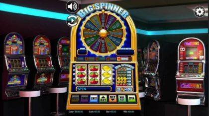 Slot Reels, Wheel - Big Spinner-Betdigital Mobile Slot Game