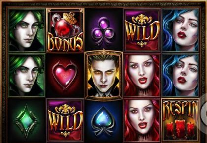 Slot Reels - Blood Lust-Elk Studios Mobile Slot Game