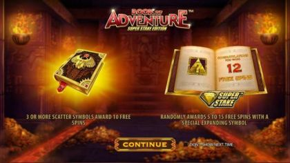 Info - Book of Adventure: Super Stake Edition-StakeLogic Mobile Slot Game