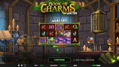 - Book of Charms- Mobile Slot Game