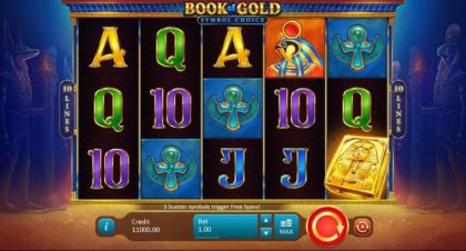 , - Book of Gold: Symbol Choice- Mobile Slot Game