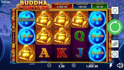 Slot Reels - Buddha Fortune-Booongo Mobile Slot Game