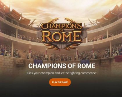 - Champions of Rome- Mobile Slot Game