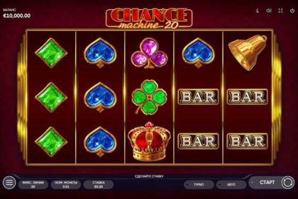 Slot Reels - Chance Machine 20-Endorphina Mobile Slot Game
