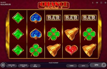 Slot Reels - Chance Machine 5-Endorphina Mobile Slot Game