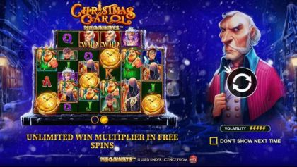 Info - Christmas Carol Megaways-Pragmatic Play Mobile Slot Game