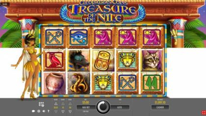 Slot Reels - Cleopatra's Coins: Treasure of the Nile-Rival Mobile Slot Game