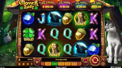 Slot Reels - Clover Lady-Wazdan Mobile Slot Game
