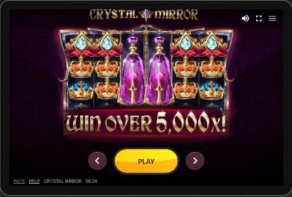Slot Reels - Crystal Mirror-Red Tiger Gaming Mobile Slot Game