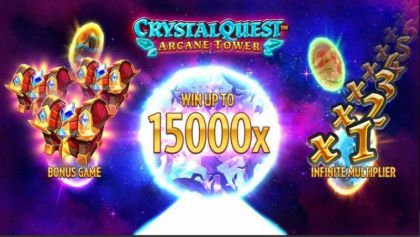 Info - Crystal Quest: ArcaneTower-Thunderkick Mobile Slot Game