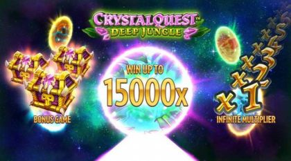 Info - Crystal Quest Deep Jungle-Thunderkick Mobile Slot Game