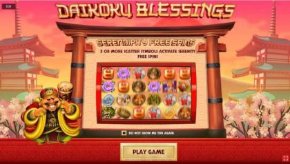 Info - Daikoku Blessings-Rival Mobile Slot Game