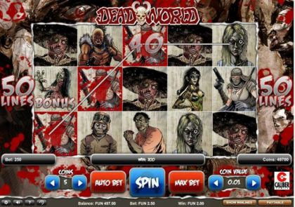 Slot Reels - Deadworld-1x2 Gaming Mobile Slot Game