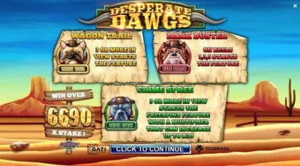 Info - Desperate Dawgs-Yggdrasil Mobile Slot Game