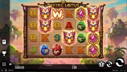 - Divine Lotus- Mobile Slot Game
