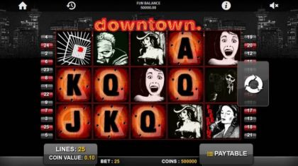Slot Reels - Downtown-1x2 Gaming Mobile Slot Game