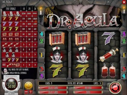 Slot Reels - Dr. Akula-PlayTech Mobile Slot Game