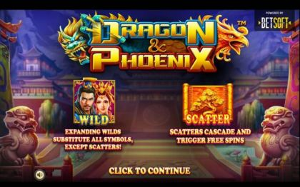 , , , - Dragon & Phoenix- Mobile Slot Game