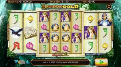 Slot Reels - Druidess Gold-Nyx Interactive Mobile Slot Game