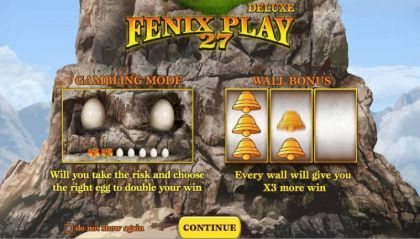 Info - Fenix Play 27 Deluxe-Wazdan Mobile Slot Game