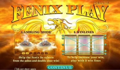 Info - Fenix Play Deluxe-Wazdan Mobile Slot Game