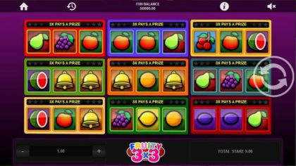 Slot Reels - Football 3x3-1x2 Gaming Mobile Slot Game