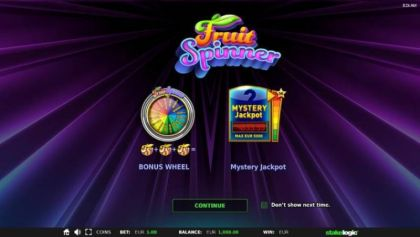 - Fruit Spinner- Mobile Slot Game