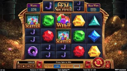 Slot Reels - Gem Splitter-Wazdan Mobile Slot Game