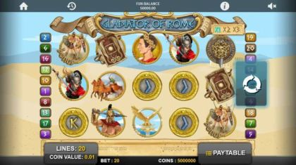 Slot Reels - Gladiators of Rome-1x2 Gaming Mobile Slot Game