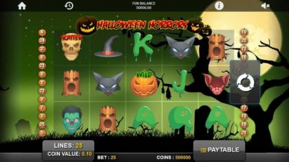 Slot Reels - Halloween Horrors-1x2 Gaming Mobile Slot Game