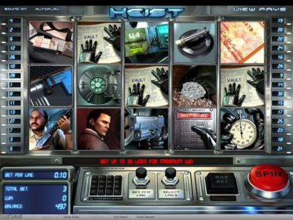 - Heist- Mobile Slot Game