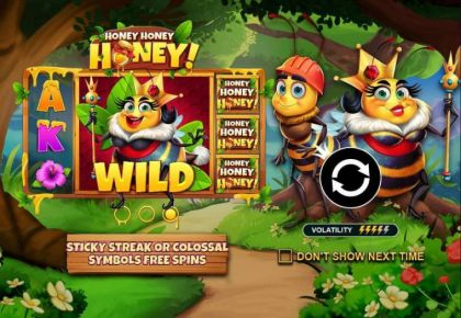 - Honey Honey Hone- Mobile Slot Game