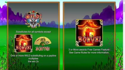 Bonus 1 - Huolong Valley-Nyx Interactive Mobile Slot Game
