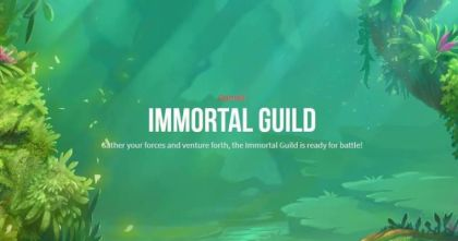 Info - Immortal Guild-Push Gaming Mobile Slot Game