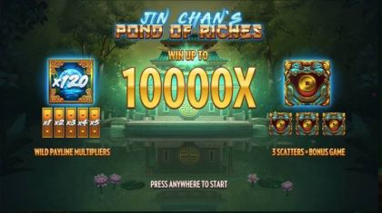 Info - Jin Chan´s Pond of Riches-Thunderkick Mobile Slot Game