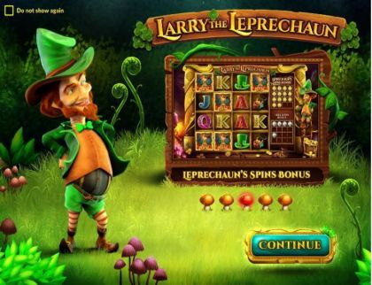 - Larry the Leprechaun- Mobile Slot Game