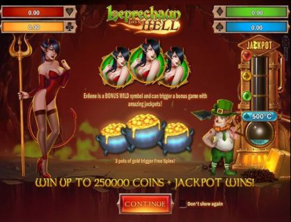 Info - Leprechaun goes to Hell-Play'n GO Mobile Slot Game