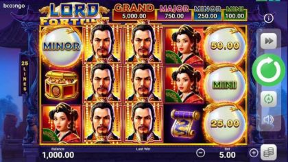 Slot Reels - Lord Fortune-Booongo Mobile Slot Game