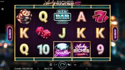 Slot Reels - Lucky Riches-Microgaming Mobile Slot Game