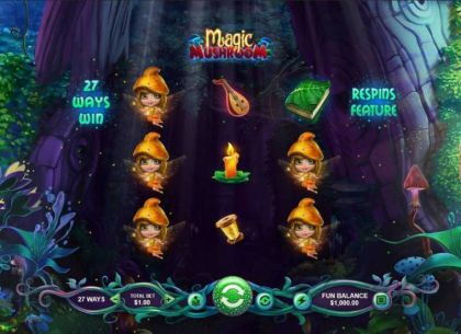 - Magic Mashroom- Mobile Slot Game