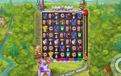 Slot Reels - Micro Knights-Elk Studios Mobile Slot Game